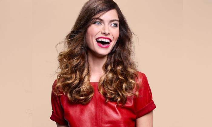 Camille Albane Salon - Addison Walk: Styling Package with Optional Balayage or Single-Process Color at Camille Albane Salon (Up to 54% Off)