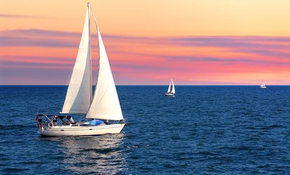 image for 2.5-Hour Cruise for Six or One-Hour <strong>Sailing</strong> Lesson for Two from Jersey Shore <strong>Sailing</strong> LLC (Up to 56% Off)