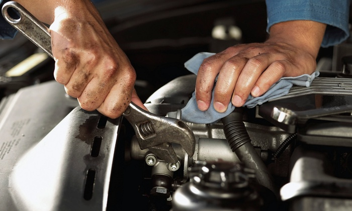 Fast Auto & Brake Center - Fountain Valley: $25 for $50 Worth of Services at Mobile
