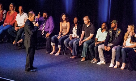R-Rated Comic Hypnotist Frank Santos Jr. at Wilbur Theatre on Saturday, July 11 at 7 p.m. (Up to 48% Off)