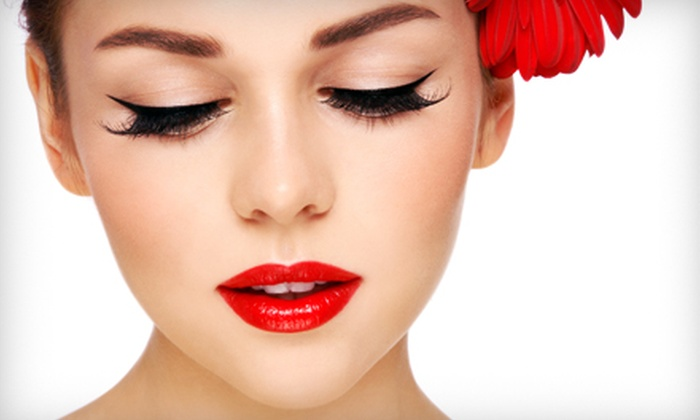 The Green Bath & Beauty Company - Kingston: Natural or Cat-Eye Eyelash Extensions with a Touch-Up at The Green Bath & Beauty Company (Up to 51% Off)