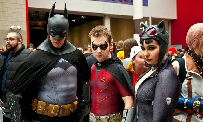 Super Hero Convention - San Jose Convention Center: Super Hero Convention (9 a.m. on November 21–22)
