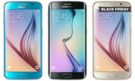 Refurbished Samsung Galaxy S6, S6 Edge, S7 or S7 Edge 32GB With Free Delivery