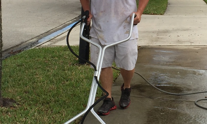 Investment Painting of North FL - Jacksonville: Sidewalk or Concrete Pressure Washing from Investment Painting of North FL (40% Off)