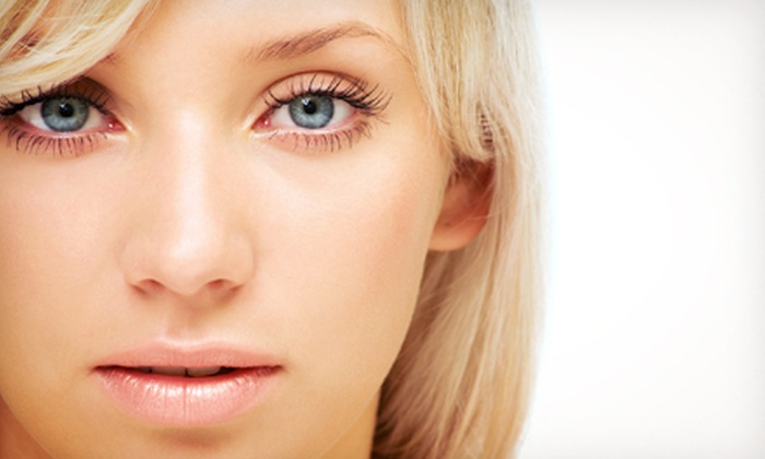 Milla's Beauty Center - Westland: Eyebrow Shaping with Optional 24k Pure Gold Facial or Eyelash Extensions at Milla's Beauty Center (Up to 64% Off)