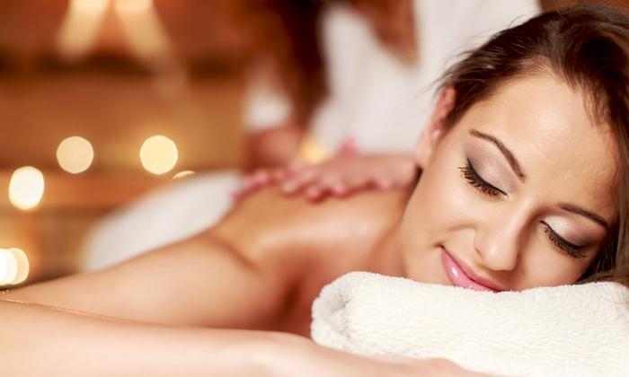 Spa d'Luna - Central Dallas: 60-Minute Custom MassagewithRejuvenatingFacialat Spa D'Luna (Up to 58% Off)