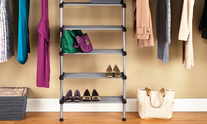 Whitmor Sophisticate 6 Shelf Closet System : Whitmor Sophisticate 6 Shelf  Closet System ...