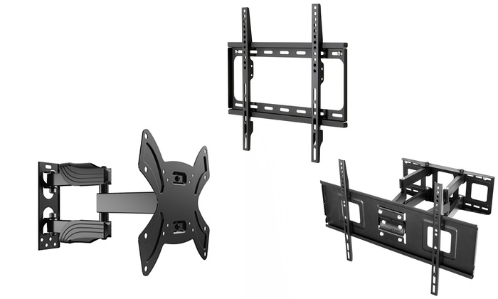Emerald Fixed, Tilt, or Full-Motion Wall Mounts for 17″–75″ TVs