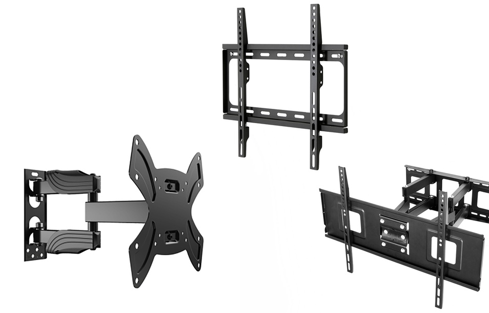 "Emerald Fixed, Tilt, or Full-Motion Wall Mounts for 17""–75"" TVs"