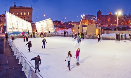 Season Pass or 10-Punch Skate Card at Brenton Skating Plaza (Up to 52% Off). Four Options Available.