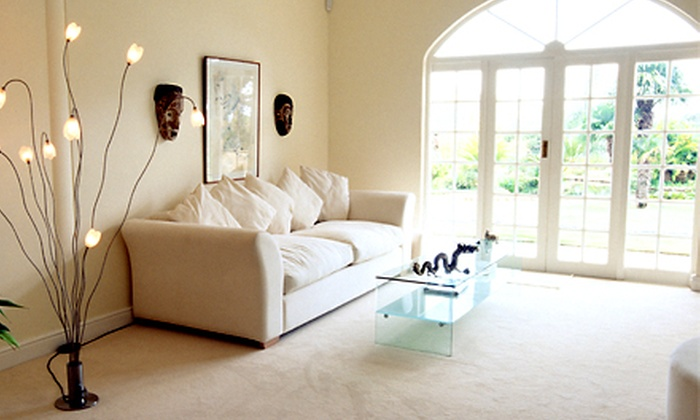 Magic Carpet - Brentwood: $69 for Three Rooms of Carpet Cleaning from Magic Carpet ($210 Value)