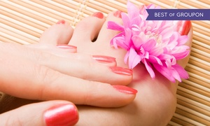 Paradise Nail and Spa: $39 for a Shellac Manicure and Deluxe Spa Pedicure at Paradise Nail & Spa ($70 value)