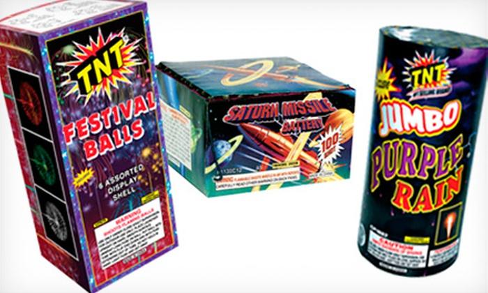 TNT Fireworks - North Ogden: $20 for $45 Worth of Fireworks at TNT Fireworks