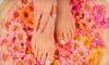 Dessange-Paris - Bach: Classic Mani-Pedi, Haircut with Clay Scalp Treatment, or Spray Tan and Exfoliation at Dessange Paris (Up to 61% Off)