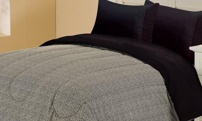 Reversible Comforter: Reversible Comforter with Leopard or Zebra Print. Multiple Sizes from $21.99–$29.99. Free Returns.