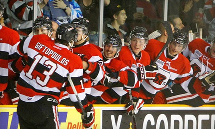 Ottawa 67's - Kanata Lakes - Marchwood Lakeside - Morgan's Grant - Kanata: Ottawa 67's Game for Two on September 20 with $25 Worth of Pub Food at The Royal Oak (Up to $63 Value)