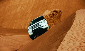 Net Tours Abu Dhabi: Sunrise or Morning Desert Safari for One, Two or Four with Net Tours Abu Dhabi