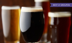 Block Brewing Company: $20 for a Logo Pint Glass, Growler, and Growler Fill at Block Brewing Company ($34 Value)