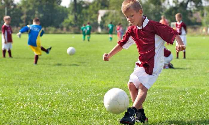 Tiny Toes To Soccer Pros - Omaha: One or Two Months of Children's Soccer Classes at Tiny Toes To Soccer Pros (Up to 51% Off). Six Options Available.