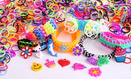 Loom Bands Refill Kit with 1,200 Multicolored Loom Bands and Accessories. Free Returns.