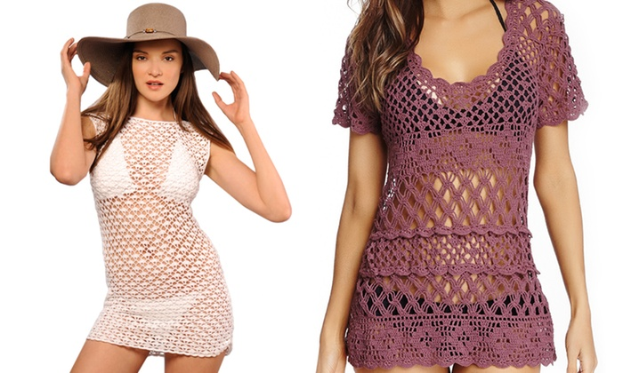 ac4d15e5360c Beauty & the Beach Swim Coverups | Groupon Goods