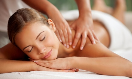 Facial, Massage, Body Wrap, and Paraffin Hand Treatment at Lux Spa & Wellness (57% Off). Two Options Available.