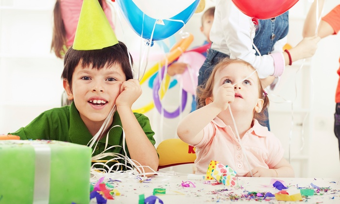 Kidz Partiez In A Box - Memphis: Pick-Two Party Package for Up to 15 or 25 Kids or Five Packages from Kidz Partiez In A Box (Up to 68% Off)