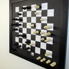 Magnetic Wall Checkers and Chess Set