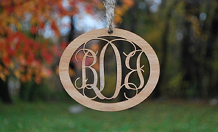 Lily Deal: One, Two, or Three Custom Wood Ornaments from LilyDeal.com (Up to 80% Off)
