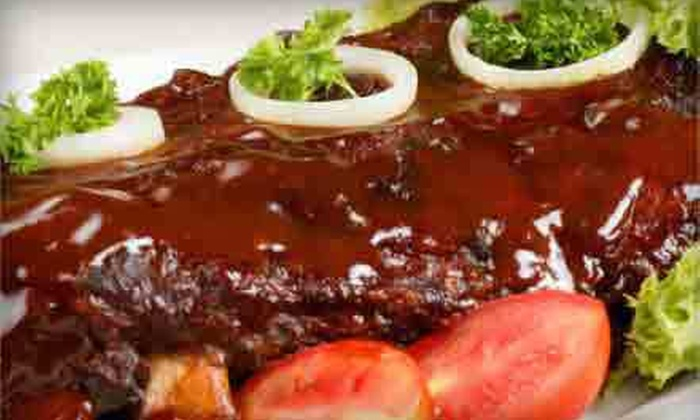 Phoebe's Bar-B-Q - Graduate Hospital: Barbecue Food for Lunch or Dinner, or a Catering Package for Up to 10 at Phoebe's Bar-B-Q (Up to 51% Off)