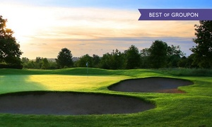 Belton Woods - Golf & Spa Resort: One or Two 18-Hole Rounds of Golf with Bacon Roll and Drink for Two or Four at Belton Woods