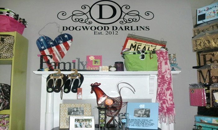 Dogwood Darlins' Embroidery & Gifts - Terry Sanford: $10 Worth of Embroidery and Gifts