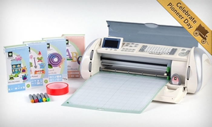 Provo Craft: Reconditioned Cricut Craft-Cutting Bundle or Cricut Cake-Decorating Bundle from Provo Craft (Up to 53% Off)
