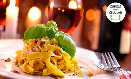 Entrada e prato principal para 1, 2 ou 4 pessoas (opção com taça de vinho) no Vico dO Scugnizzo – Jardins