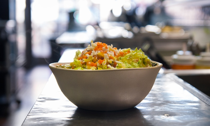 Brazilian Bowl - Lakeview: $13 for Two Groupons, Each Good for $10 Worth of Brazilian Cuisine at Brazilian Bowl ($20 Total Value)