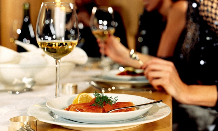 Bistro Montage - Des Moines: $135 for Four-Course French Dinner with Wine Pairings for Two or $269 for Dinner and Wine for Four