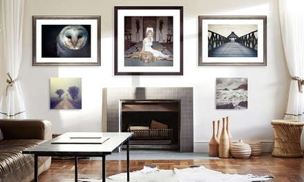 Stunning Framed Photography from Photos.com by Getty Images (50% Off). Three Options Available.