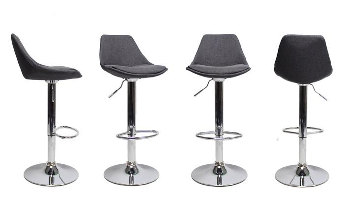 jusqu 39 40 tabouret de bar luke groupon. Black Bedroom Furniture Sets. Home Design Ideas