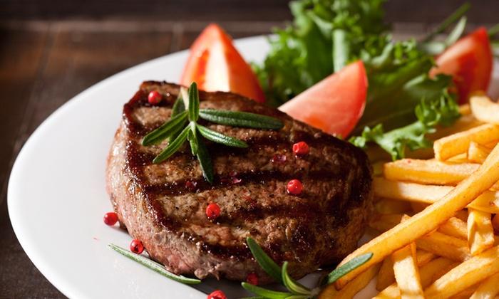 The Oak Inn - Guilsfield: 24oz Steak Meal for Two at The Oak Inn (28% Off)