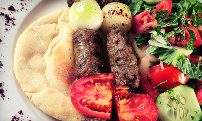 Zaki Kabob House - Albany: Mediterranean Food and Drinks for Two or Four at Zaki Kabob House