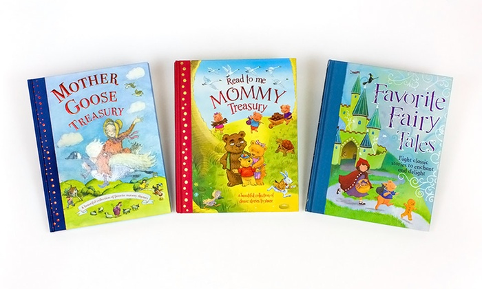 Children's Story Treasury 3-Volume Set: $19.99 for a Children's Treasuries 3-Volume Book Set ($33 List Price). Free Shipping.