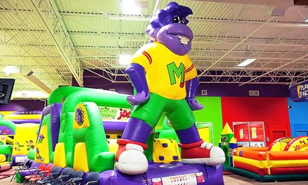 Inflatable Playground Party for Up to 24 Kids at Monkey Joes   (37% Off)