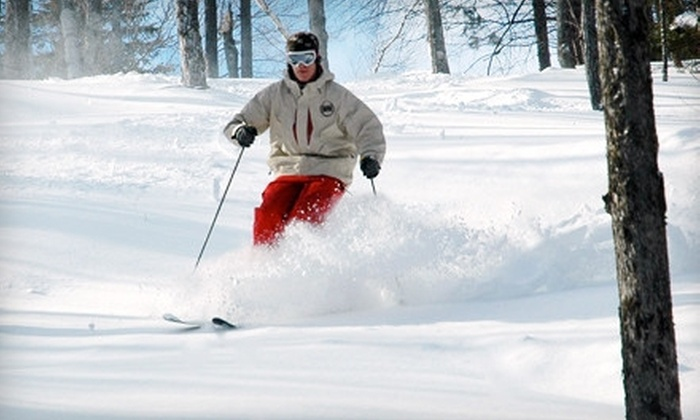 Whaleback - Enfield: Lift Tickets with Optional Ski Rentals for Two or Four at Whaleback (Up to 55% Off)