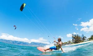Miami Kiteboarding Lessons: 60-Minute Introductory Kiteboarding Class for One or Two at Miami Kiteboarding Lessons (Up to 65% Off)