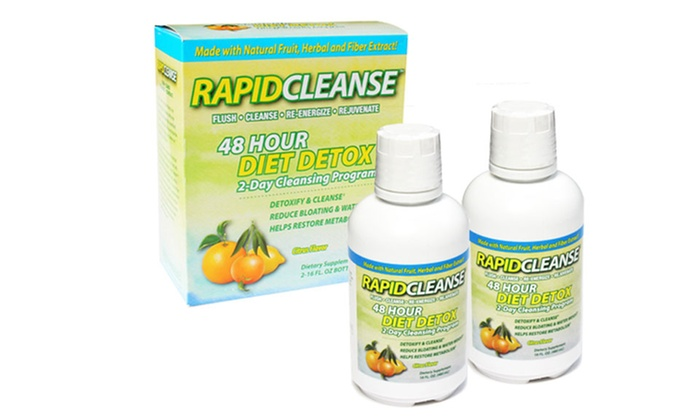 Rapid Cleanse 48-Hour Energizing Detox Diet: Rapid Cleanse 48-Hour Energizing Detox Diet