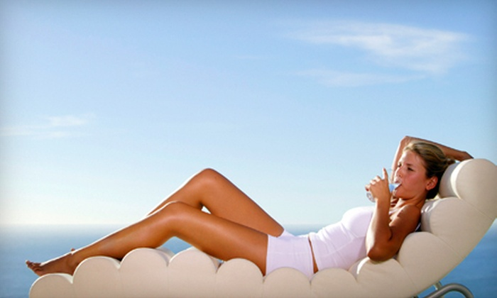 Aloha Tan - Marina: One, Three, or Five Spray Tans at Aloha Tan (Up to 52% Off)