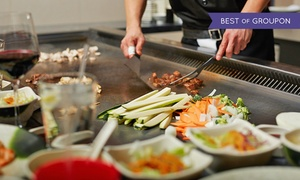 Tokyo Steakhouse II: Hibachi Dinner for Two at Toyko Steak House II (Up to 47% Off)