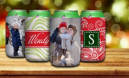 One or Four Personalized Beverage Holders from Paper Concierge (Up to 61% Off)