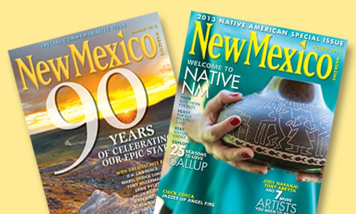 "New Mexico Magazine: $10 for a One-Year ""New Mexico Magazine"" Subscription ($19.95 Value)"