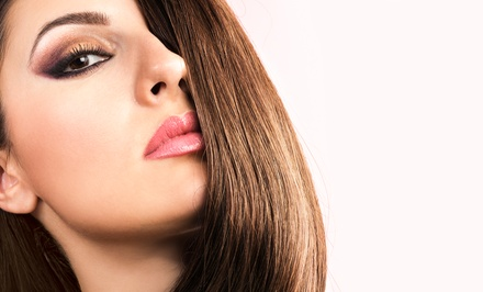Haircut, Conditioning Treatment, and Style with Optional Partial Highlights at Antoine's Salon (Up to 64% Off)
